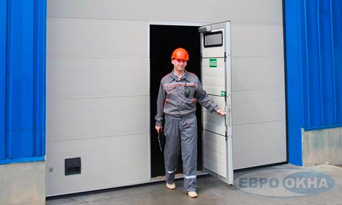Евроокна - Дополнительные возможности для промышленных ворот