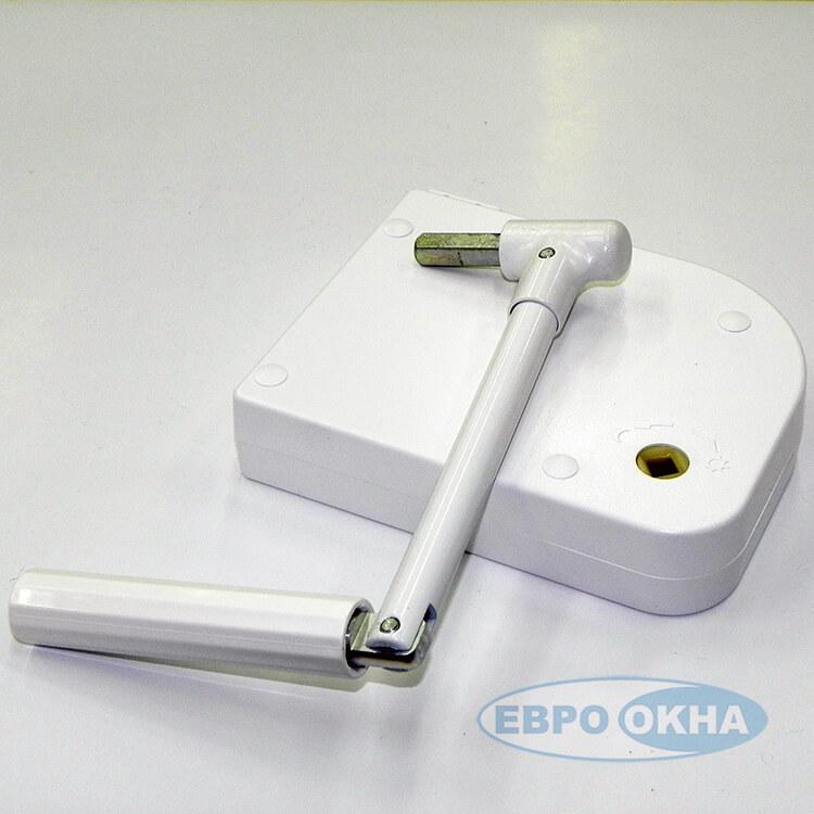 Евроокна - Укладчик для шнура редукторный c рукояткой SBG/0+KUR