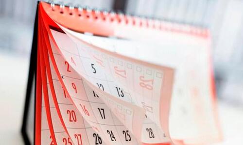 Евроокна - рабочий календарь