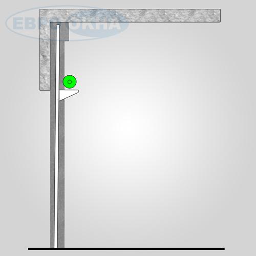 Евроокна - Типы монтажа промышленных ворот