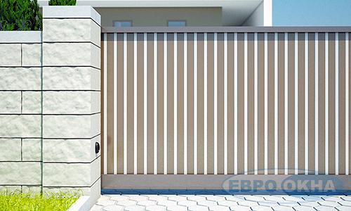 Евроокна - Заполнение откатных ворот