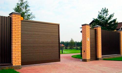 Евроокна - ворота секционные